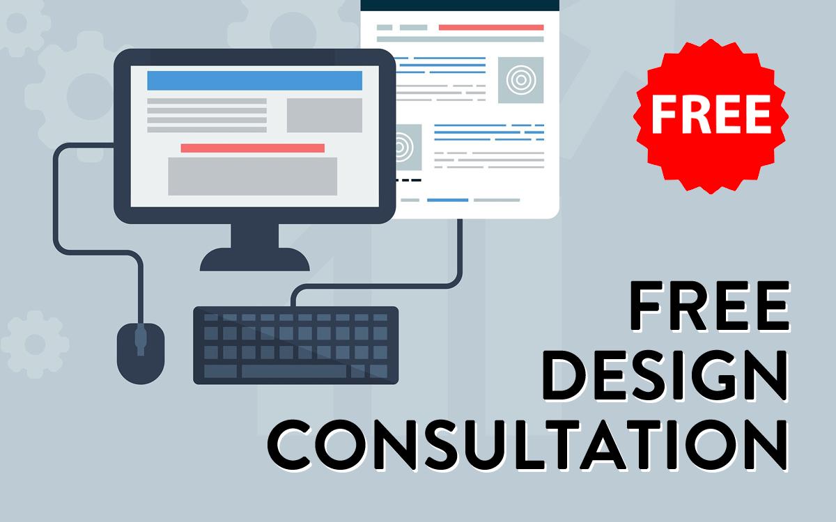 free web design and graphic design consultation
