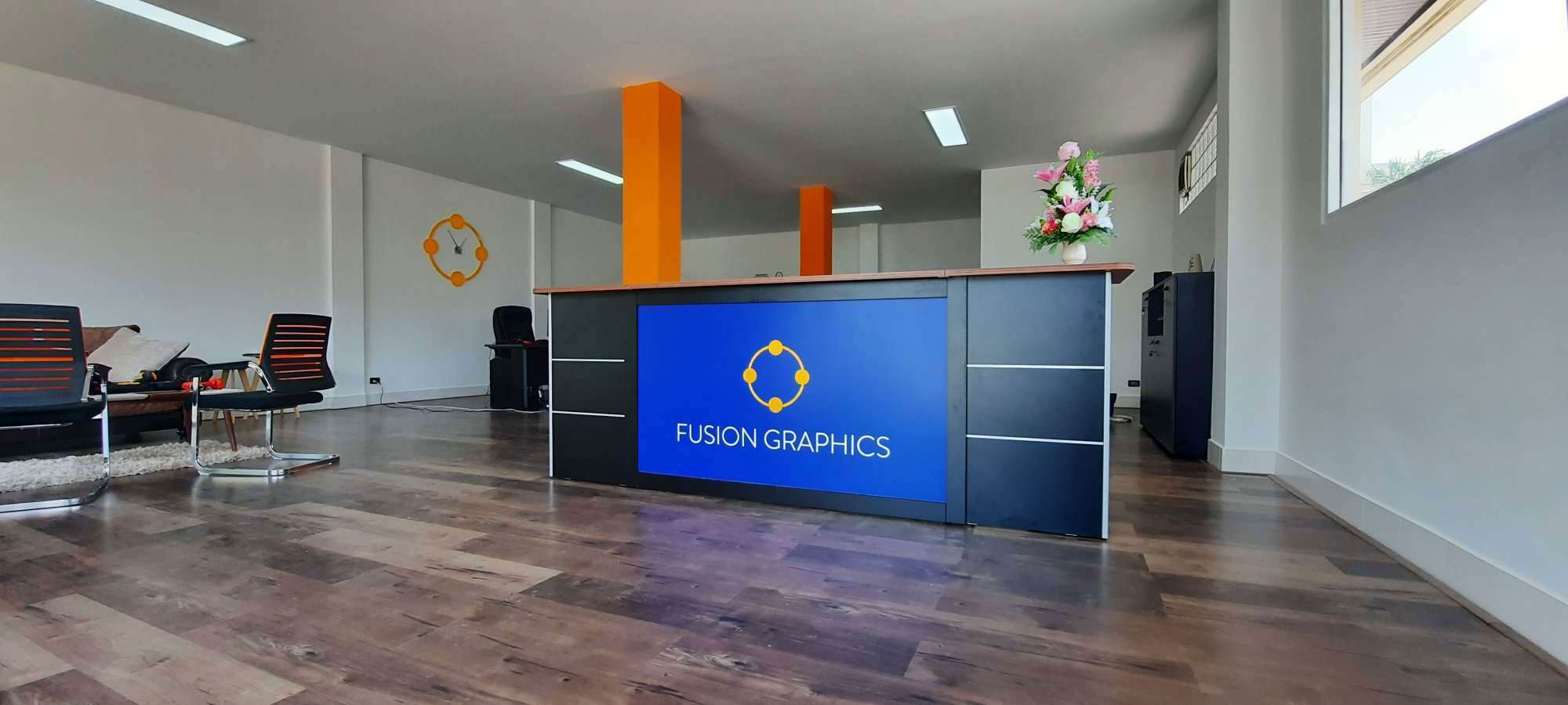 Fusion Graphics Phuket Office Interior