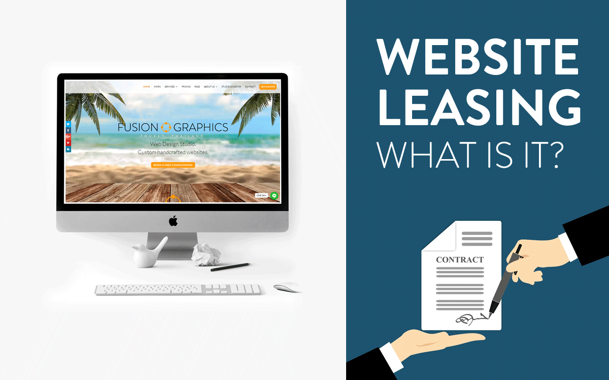 What is website leasing | Website Leasing Service from Fusion Graphics Phuket