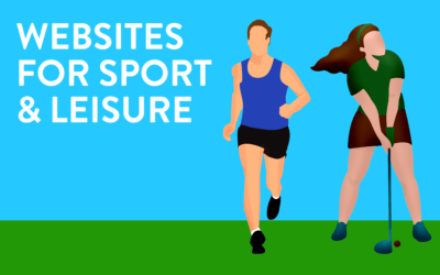 Websites for the Sport & Leisure industry