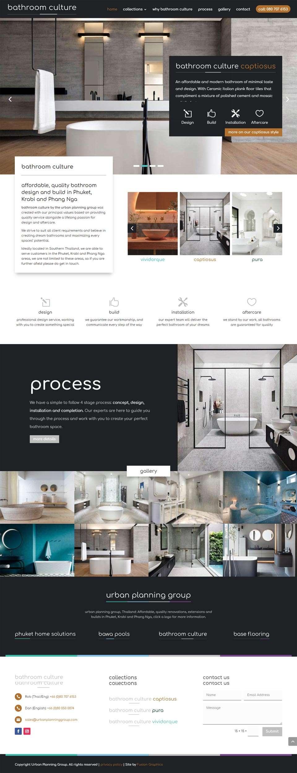 Urban Planning Group Phuket website image